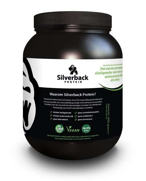 "Silverback Protein<sup><span style=""font-size: 60%"">®</span></sup><br><span style=""font-size: 50%"">SMART PEOPLE UNDERSTAND WHY</span>"
